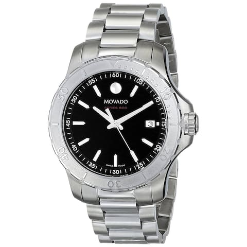 Movado Men's 2600115 'Series 800 Performance' Stainless Steel Watch