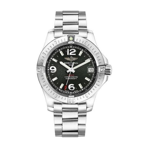 Breitling Women's A7438911-BD82-178A 'Colt' Stainless Steel Watch