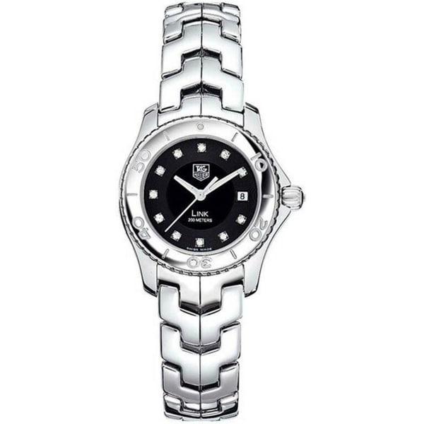 Tag Heuer Women's WJ1318.BA0572 'Link' Stainless Steel Watch. Opens flyout.