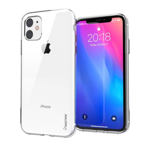 Insten Clear Case Soft TPU Protective Cover for iPhone 11/iPhone 11 Pro/iPhone 11 Pro Max 2019 [Support Wireless Charging]