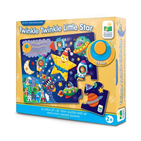 My First Sing-Along Puzzle - Twinkle Twinkle Little Star: 12 Pcs