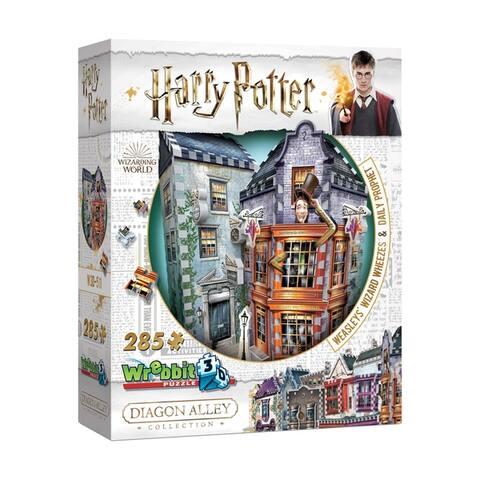 Harry Potter - Weasleys' Wizard Wheezes & Daily Prophet 3D Puzzle