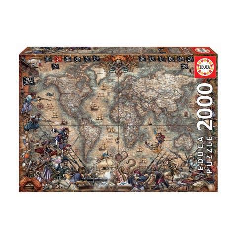 Pirates Map: 2000 Pcs