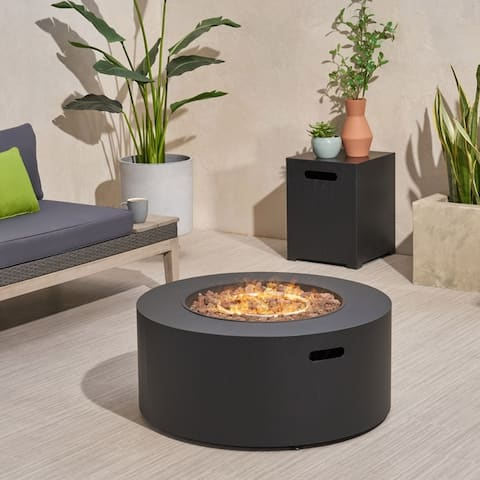 Wellington 32-inch Round Patio Fire Pit by Christopher Knight Home