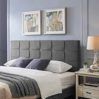 Marlene Contemporary Upholstered Headboard by Christopher Knight Home
