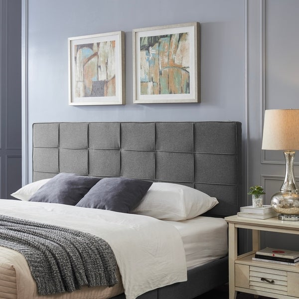 Marlene Contemporary Upholstered Headboard by Christopher Knight Home. Opens flyout.