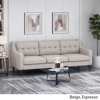 Tufted Back Beige Sofas Couches