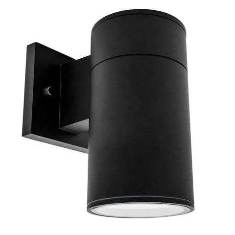 Maxxima LED Cylinder Outdoor Wall Wash Sconce Light