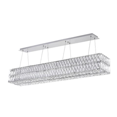 Willa LED Chandelier with Chrome Finish