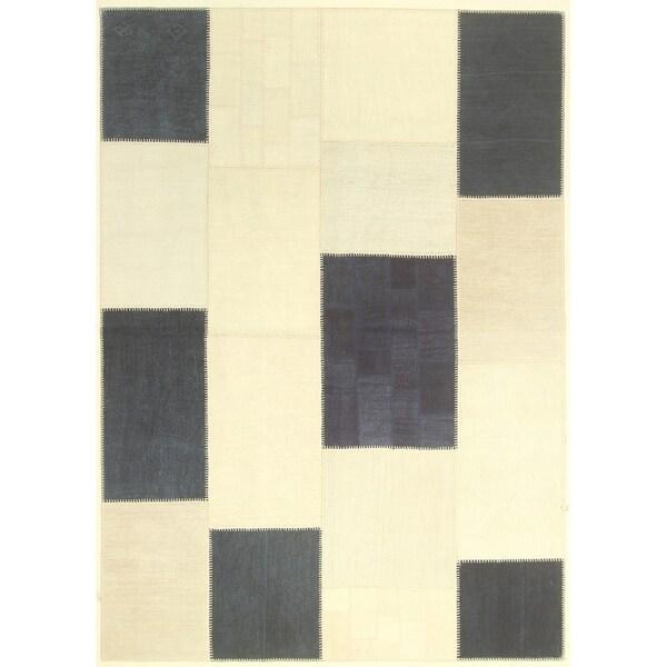 """Kilim Colorblock Patchwork - 5'7"""" x 7'10"""""""