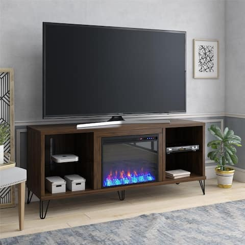 Novogratz Concord Fireplace TV Stand for TVs up to 70 inches