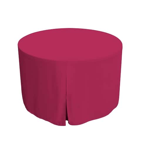 Tablevogue Solid Round Table Cover