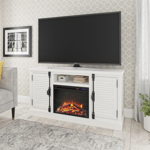 Avenue Greene Woodlawn Fireplace TV Stand for TVs up to 65 inches
