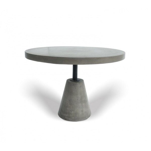 Modrest Lenado Modern Grey Concrete End Table. Opens flyout.