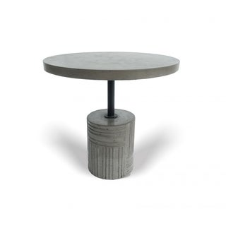 Link to Modrest Keota Modern Grey Concrete End Table Similar Items in Living Room Furniture