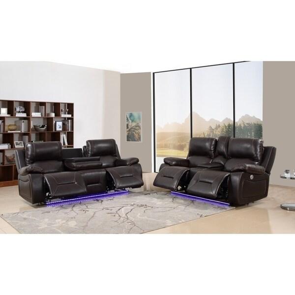 Ozark Modern Upholstered 2 PC Sofa Set