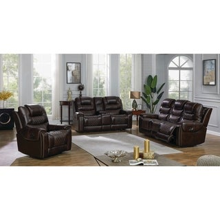 North Upholstered Power 3-piece Living Room Set