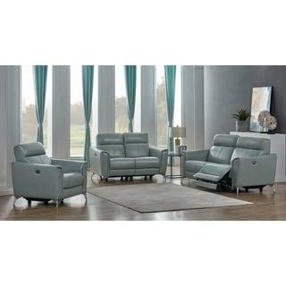 Alberta Upholstered Power 3-piece Living Room Set