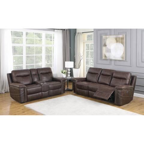 Wixom Upholstered Power 2-piece Living Room Set
