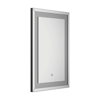 Silver Rectangle Wall Mirror