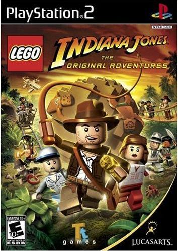 PS2 - Lego Indiana Jones