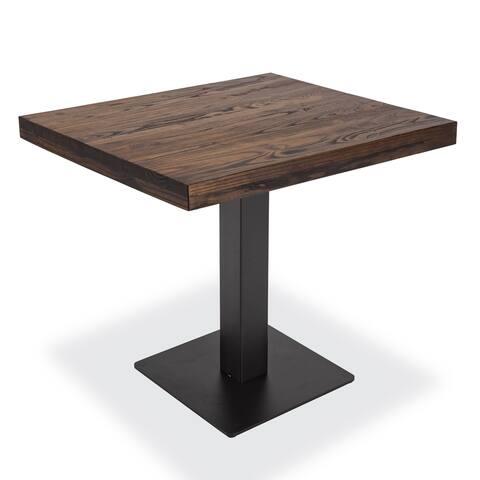 EdgeMod Sloane 2-Seat Dining Table in Walnut