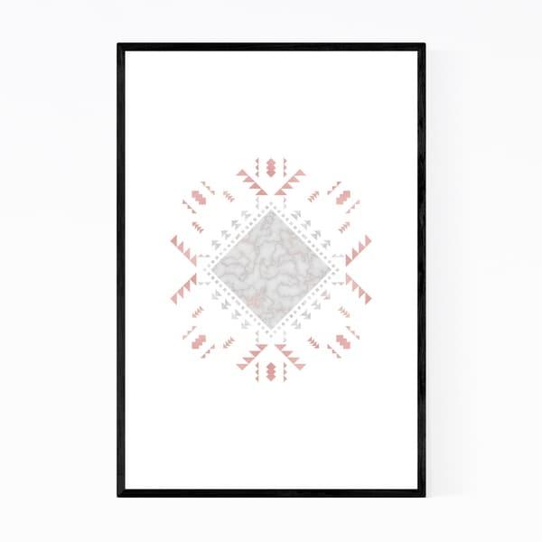 Noir Gallery Bohemian Cherokee Design Framed Art Print