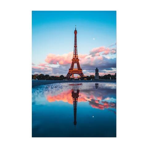 Noir Gallery Paris France Eiffel Tower Photo Unframed Art Print/Poster