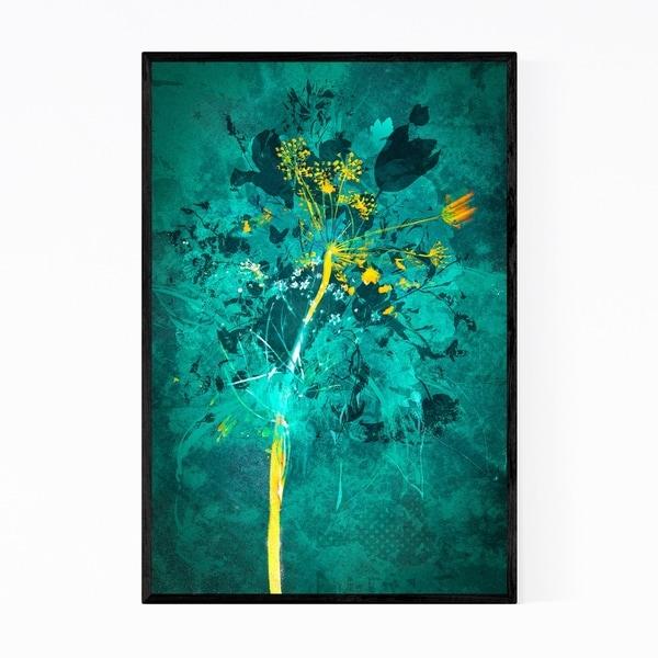 Noir Gallery Floral Botanical Illustration Framed Art Print