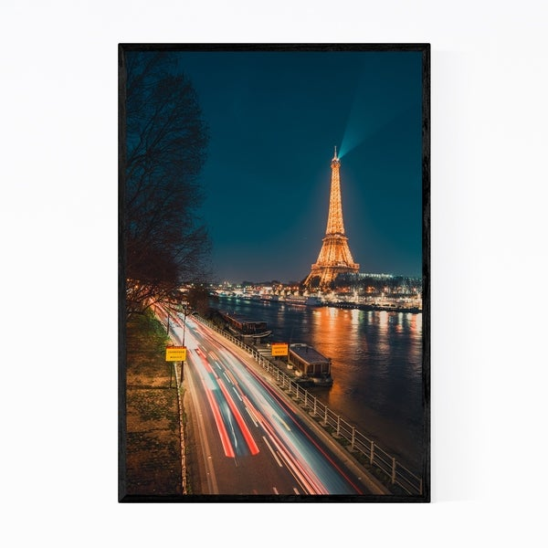 Noir Gallery Paris France Eiffel Tower Photo Framed Art Print