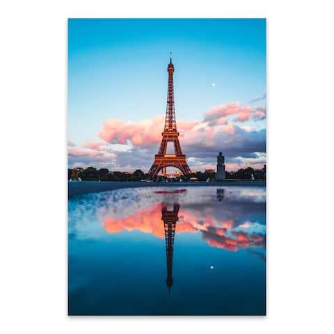 Noir Gallery Paris France Eiffel Tower Photo Metal Wall Art Print