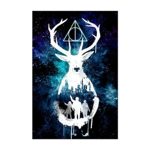 Noir Gallery Harry Potter Digital Painting Unframed Art Print/Poster