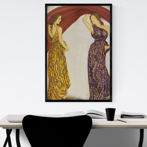 Noir Gallery Greek Mythology Oil Painting Framed Art Print