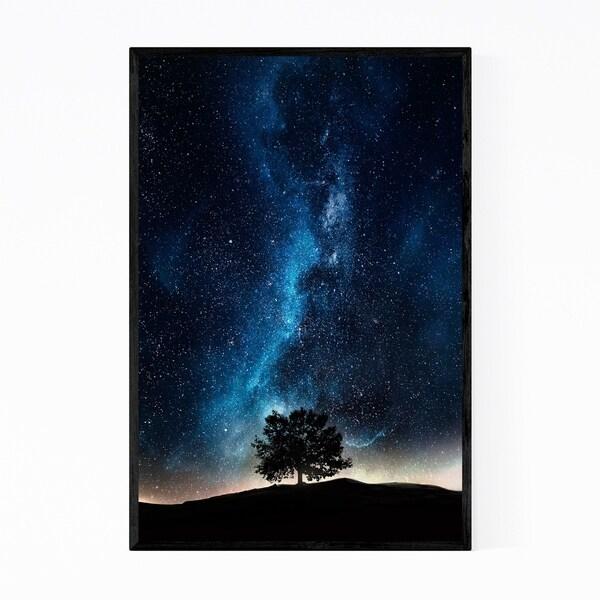 Noir Gallery Cosmic Milky Way Astronomy Nature Framed Art Print
