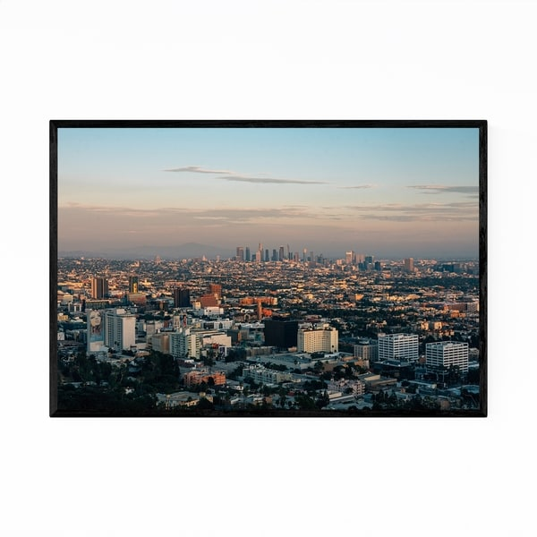 Noir Gallery Runyon Canyon Hollywood View Framed Art Print