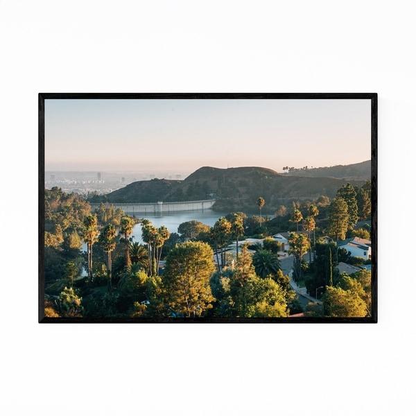 Noir Gallery Hollywood Reservoir Los Angeles Framed Art Print