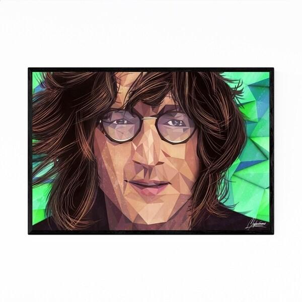 Noir Gallery John Lennon Portrait Illustration Framed Art Print