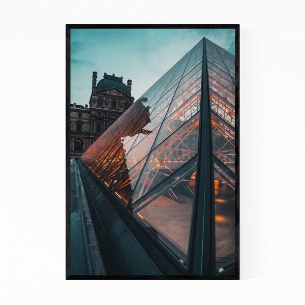 Noir Gallery Paris France Louvre Museum Photo Framed Art Print