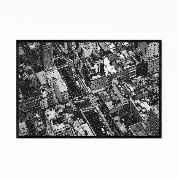 Noir Gallery New York NYC Cityscape Photo Framed Art Print