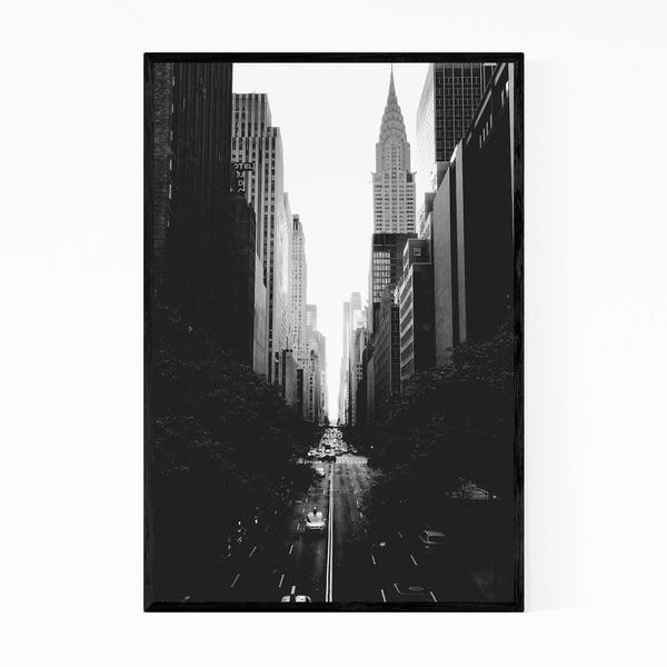 Noir Gallery Tudor City New York City Photo Framed Art Print