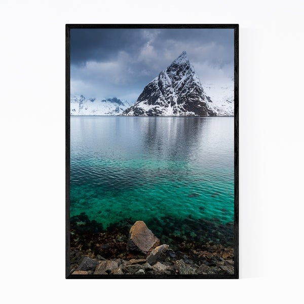 Noir Gallery Reine Lofoten Norway Landscape Framed Art Print