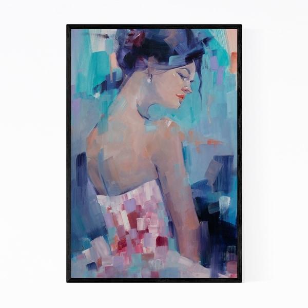 Noir Gallery Feminine Figurative Oil Painting Framed Art Print