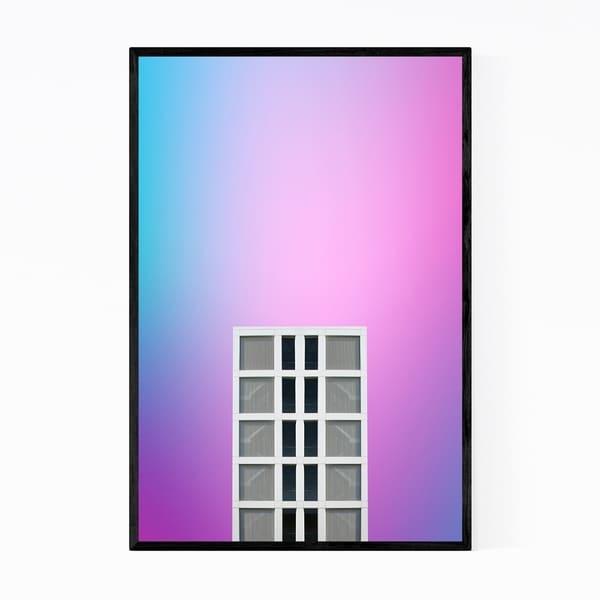Noir Gallery Minimal Architecture Modern Framed Art Print