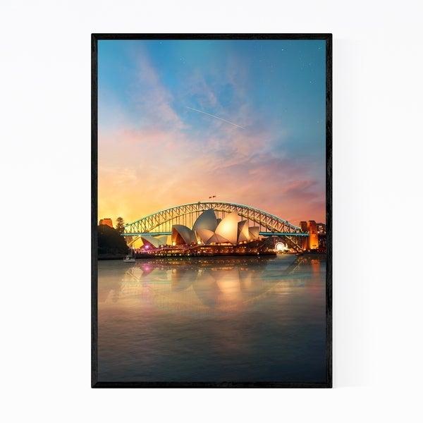 Noir Gallery Sydney Opera House Australia Framed Art Print