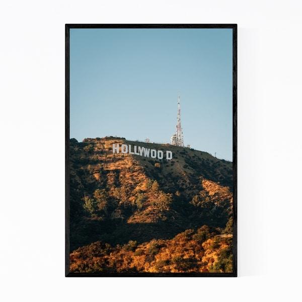 Noir Gallery Hollywood Sign Los Angeles Framed Art Print