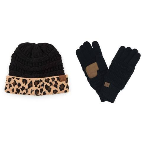 CC Beanie Glove Set