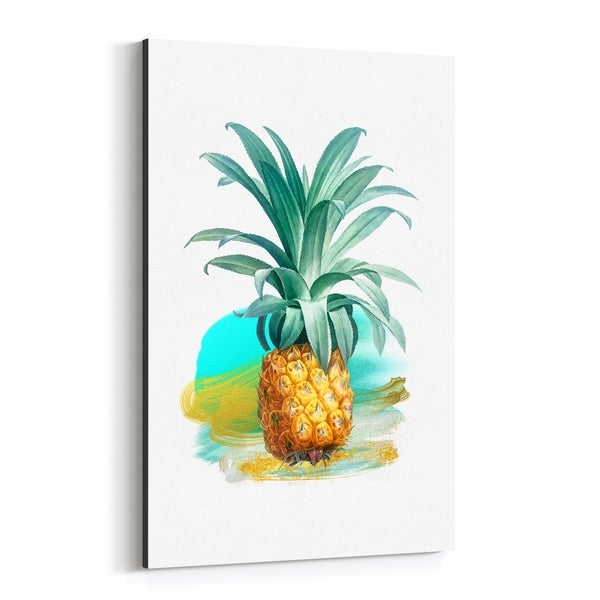 Noir Gallery Pineapple Food Kitchen Gift Canvas Wall Art Print