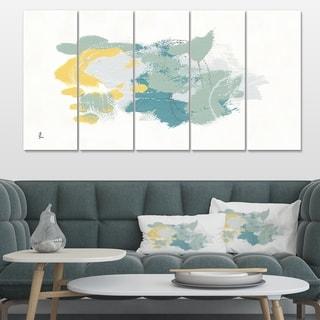 Designart 'Hopeful I' Modern Farmhouse Premium Canvas Wall Art