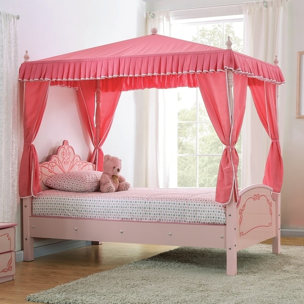 Copper Grove Telfs Twin Pink Palace Bed