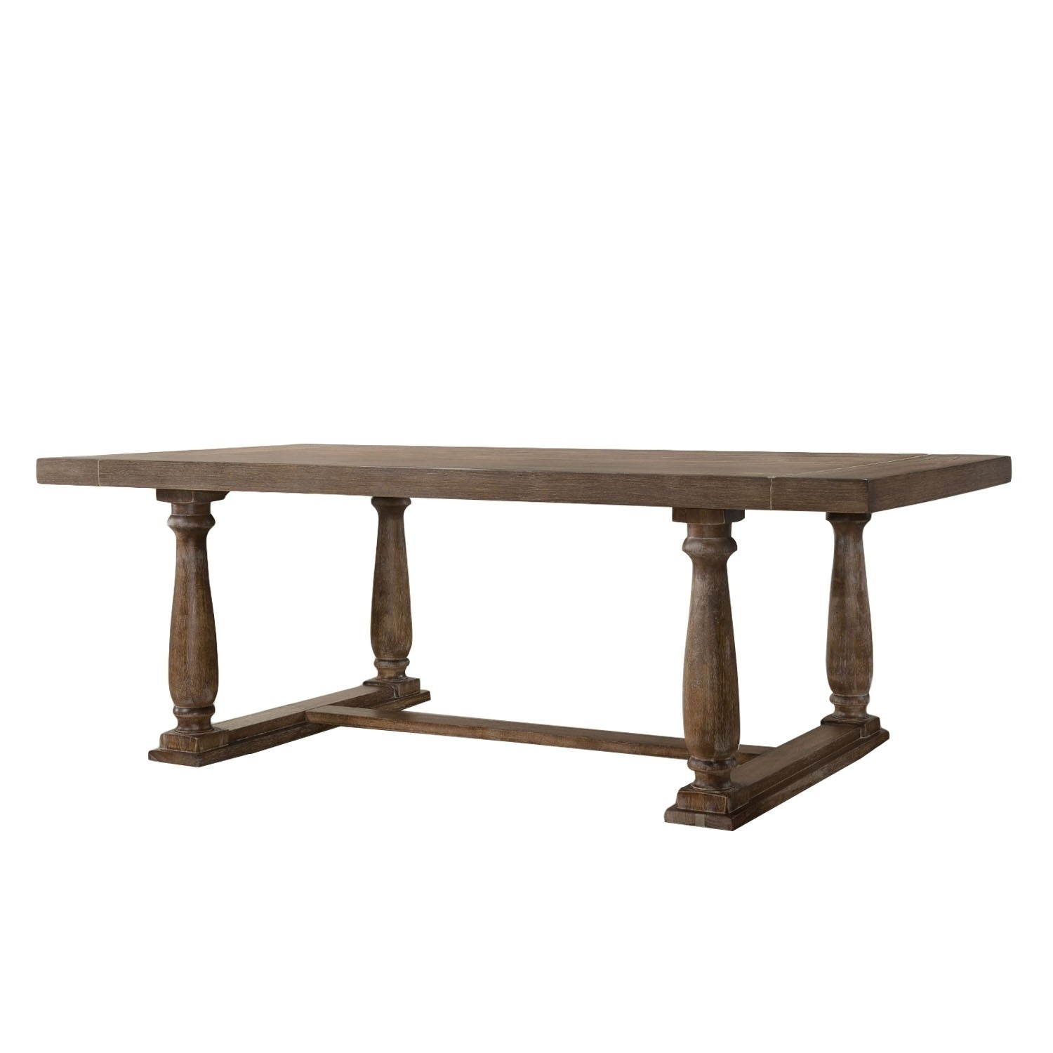 Shop Traditional Style Wooden Dining Table With Rectangular Shape